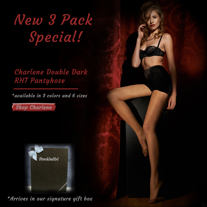 Special Double Dark Pantyhose Gift Set
