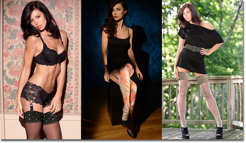 Fashion Legwear, Fashionable hosiery, Fashion forward legwear, fashionable stockings, fashion thigh highs