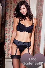 Receive a Free Garter Belt with any order over $75
