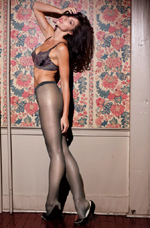 High Satin Pantyhose