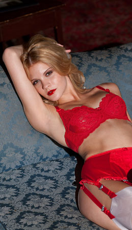 Brigitte Satin and Lace Bra from Europe - Available in Three Colors