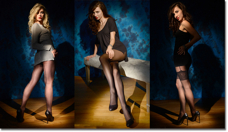 Pantyhose, back seamed pantyhose, sheer to waist pantyhose, shimmer pantyhose, garter effect pantyhose