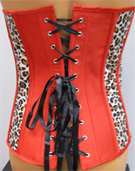 Red Corset Backing