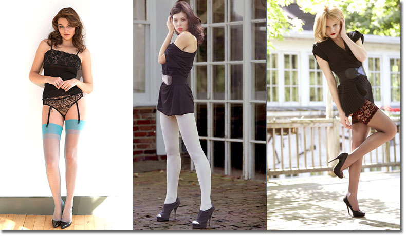 Seasonal Hosiery, Summer Hosiery, Winter Hosiery, Fall Hosiery, Spring Hosiery, Legwear for all seasons, Seasonal Legwear