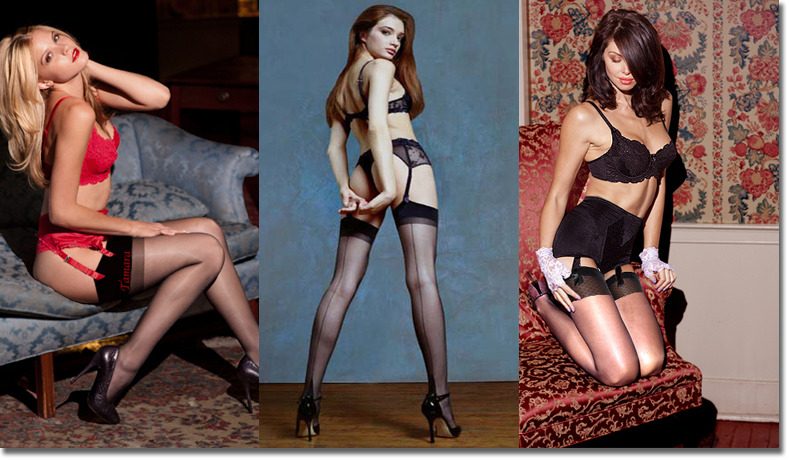 Stockings, Saemed Stockings, Custom Stockings, Personalized Stockings, Sheer Stockings, Nylon Stockings