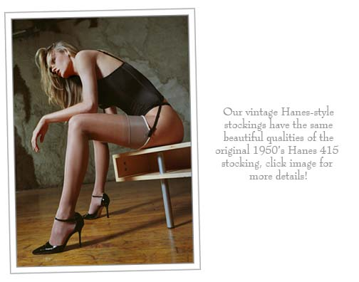 Hanes 415 Stockings, Hanes Style Stockings